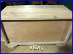 18 Drawer Apothecary, Spice / Jewlery Chest Unfinished, Muticolored Drawers
