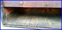 1900s Antique 8 Drawer Old TOOL CHEST Wood MECHANICS BOX