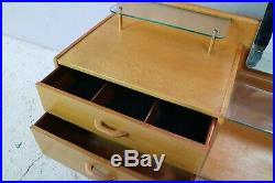 1960s mid century G Plan E Gomme chest of drawers with tall mirror