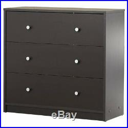 2 Piece Brown Drawer Dresser Chest Set Home Living Bedroom Furniture