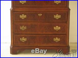45825EC DREXEL 7 Drawer Chippendale Mahogany High Chest
