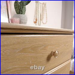 4 Drawer Wooden Dresser Chest Clothes Storage Bedroom Furniture Dover Oak Finish