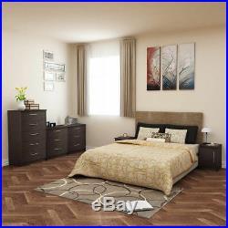 5 Drawer Chest Dresser Espresso Bedroom Teens Kids Room Furniture NO SALES TAX
