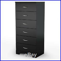 6 Drawer Bedroom Furniture Dressers Nightstands Storage Chest Dresser Decor EK