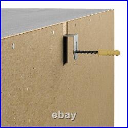 6 Drawer Dresser Bedroom Closet Clothes Storage Organizer Wood Black Oak Finish