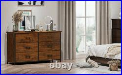 6 Drawer Dresser Furniture Bedroom Organizer Chest of Drawers Clothes Storage