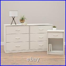 6 Drawer Dresser Modern Set Clothes Chest Organizer Furniture Multiple Finishes