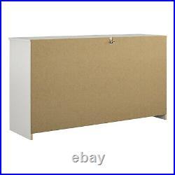 6 Drawer Dresser Modern Set Organizer Clothe Furniture Finishes Chest White