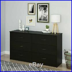 6 Drawer Dresser Modern Wood Organizer Bedroom Storage Furniture dresser Chest