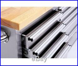 72 15 Drawers Tool Chest Wood Crate 1 Cabinet Tool Box HTC7215W