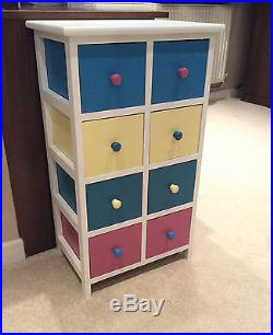 8 Drawer Chest Of Draws Wooden Shabby Chic French Chic Bedroom Hallway Furniture