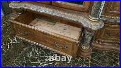 AICO by Michael Amini Torino Haberdasher chest of drawers with mirrored front