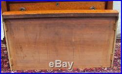Antique 1820 Sheraton Birds Eye Maple Dresser / Chest Of Drawers Ultra Choice