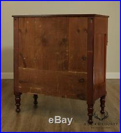 Antique American Empire Period Chest of Drawers Bureau