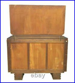 Antique Bedroom Set, Art Deco, Chest of Drawers, Bed, Nightstands, Gorgeous
