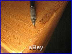 Antique Japanese 6 Drawer 2-door Kiri Wood (paulownia) Document Tansu Chest