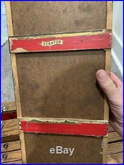 Antique Journeyman 11 Drawer Wood Tool Chest Engineer Machinist Gerstner Style