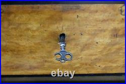 Antique continental tallboy 7 drawer chest of drawers