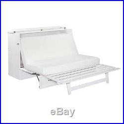 Atlantic Furniture Deerfield Queen Murphy Bed Chest in White