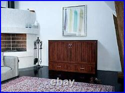 Atlantic Furniture Southampton Murphy Bed Chest with Charging Station & M