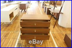 Authentic Herman Miller Nelson Thin Edge 3 Drawer Chest Design Within Reach