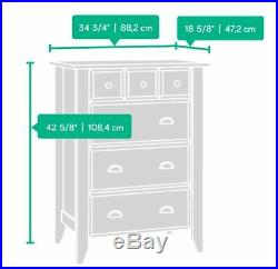Bedroom Dresser Chest of Drawers Clothes Bureau Storage Furniture Organizer Home