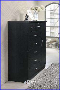 Bedroom Storage Dresser 7 Drawer Furniture Clothes Organizer Cabinet Chest New