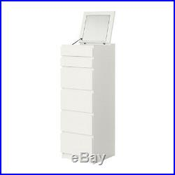 Chest of 6 drawers MALM, 40x123 cm available in 3 colours