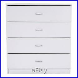 Chest of Drawers Dresser 4 Drawer Discount Furniture Cabinet Bedroom Storage