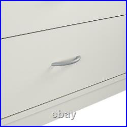Classic 6 Drawer Dresser Furniture Bedroom Organizer Clothes Chest Drawers White