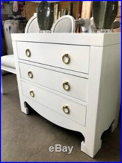 Dion White Three Drawer Chest Horchow Neiman Marcus