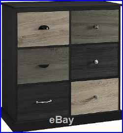 Drawer Chest Drawers Wood Cabinet Dresser Storage Clothes Bedroom Accent Cube