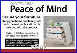 Dresser 4 Drawer Closet Cabinet Home Bedroom Furniture Storage Chest Organizer