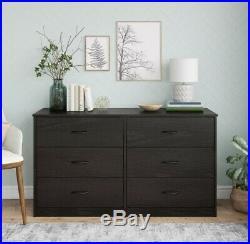 Dresser 6 Drawer Chest Closet Cabinet Home Bedroom Furniture Storage Organizer