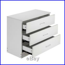 Dressers Chest of Drawers 3 Drawer Bedroom Storage Home Table Furniture