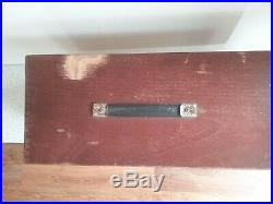 Engineers/toolmakers Union 8 Drawer Wooden Tool Chest