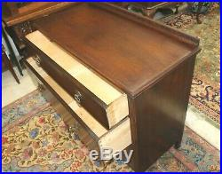 English Oak Arts & Crafts Small 3 Drawer Chest Of Drawer Bedroom Furniture