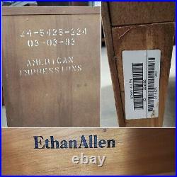 Ethan Allen American Impressions Chest 5 Drawer Dresser #24-5425 #224 ca 1993