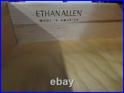 Ethan Allen British Classics Gentlemans Chest, Oversize 7 Drawer Dresser 29-5402