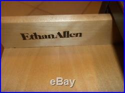 Ethan Allen Cherry 4 Drawer Chest