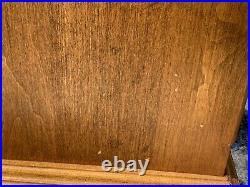 Ethan Allen Circa 1776 Chairside Chest End Table 3 drawers Maple 18-9012