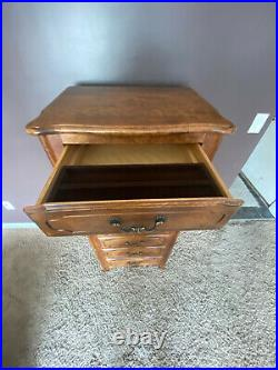 Ethan Allen Country French Lingerie Chest 26-5314 7 Drawer Fruitwood Finish