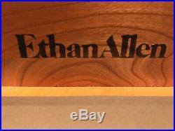 Ethan Allen Georgian Court Bachelor Chest of Drawers