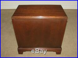 Ethan Allen Georgian Court Nightstand, Silver Chest, Four Drawers 11-9023