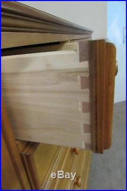Ethan Allen Oversize Gentlemans Chest, Nine Drawer High Dresser, 36-5412