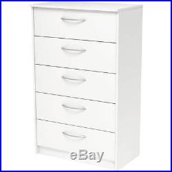Finch 5-Drawer Chest, Multiple Finishes