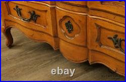 French Provincial Louis XV Style Vintage Custom Quality Dresser Chest of Drawers