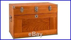 Gerstner International GI-T24 11 Drawer Oak/Veneer Chest Tools Hobby FREE SHIP