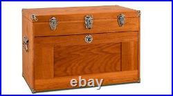 Gerstner International GI-T24 11 Drawer Oak/Veneer Chest by Tool Hobby FREE SHIP
