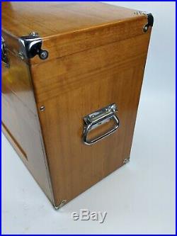 Gerstner W62 13 Drawer Walnut Machinist Tool Box with Key chest wood vintage